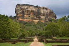 Sigiriya Felsen-Festung - Sri Lanka stockfotografie