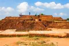 Sigiriya Felsen, Sri Lanka Lizenzfreie Stockfotografie