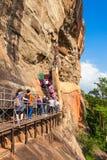 Sigiriya Felsen, Sri Lanka Lizenzfreie Stockfotos