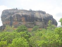 Sigiriya Felsen in Sri Lanka Lizenzfreie Stockbilder
