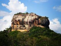 Sigiriya Felsen Sri Lanka stockfoto