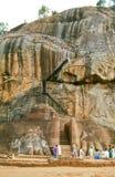 Sigiriya Felsen, Sri Lanka Stockbilder