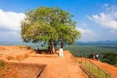 Sigiriya Felsen, Sri Lanka Lizenzfreie Stockbilder