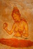 Sigiriya frescoes Royalty Free Stock Images