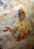 Sigiriya het Schilderen Stock Foto