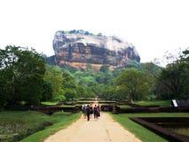 Sigiriya - Lion Rock Imagen de archivo libre de regalías