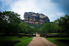Sigiriya Lion Rock Stock Afbeelding