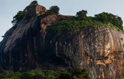 Sigiriya Lion Rock Foto de archivo