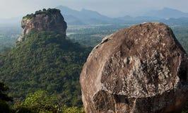 Sigiriya Lion Rock Fotografía de archivo