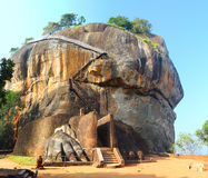 Sigiriya Lion Rock Fortress Royalty Free Stock Image