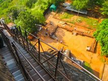 Sigiriya Lion Rock Fortress in Sri Lanka Stock Photography