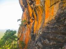 Sigiriya Lion Rock Fortress in Sri Lanka Royalty Free Stock Photography