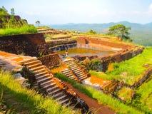 Sigiriya Lion Rock Fortress in Sri Lanka Royalty Free Stock Photos