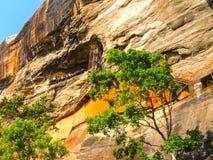 Sigiriya Lion Rock Fortress in Sri Lanka Royalty Free Stock Image