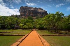 Sigiriya Lion Rock Fortress Stock Photography