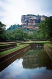 Sigiriya Lion Rock Fortress in Sri Lanka Royalty Free Stock Photography