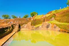 Sigiriya, Lion Rock Fortress, Sri Lanka Royalty Free Stock Photos