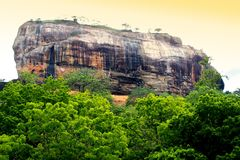 Sigiriya - Lion Rock, Sri Lanka Fotografia Stock