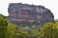Sigiriya (Lion Rock), Sri Lanka Royalty Free Stock Photography
