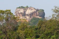 Sigiriya, Lion Rock Royalty Free Stock Photography