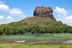 The Sigiriya (Lion's rock) Royalty Free Stock Image