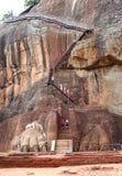 The Sigiriya (Lion's rock) Stock Images