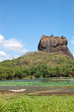 The Sigiriya (Lion's rock) Stock Photography