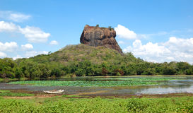 The Sigiriya (Lion's rock) Stock Image