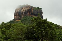 Sigiriya- Lion's Rock In Ceylon Stock Photography