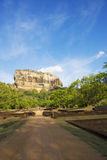 Sigiriya (Lion's Rock), Sri Lanka Royalty Free Stock Photos