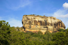 Sigiriya (Lion's Rock), Sri Lanka royalty free stock photo