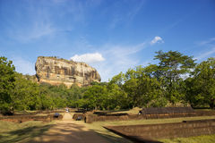 Sigiriya (Lion's Rock), Sri Lanka Royalty Free Stock Photography