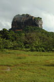 Sigiriya - Lion's rock in Sri Lanka stock image