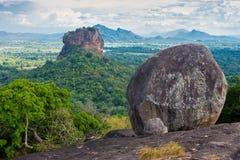 Sigiriya lwa skała Zdjęcie Stock