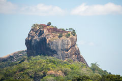 Sigiriya lwa skała, Sri Lanka Fotografia Stock