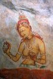 Sigiriya-Malerei Lizenzfreie Stockfotografie