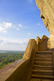 Sigiriya Mirror Wall and View, Sri Lanka Stock Images