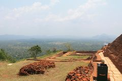 Sigiriya. Mountain located in Sigiriya, Sri Lanka has a very high historical value, it is very beautiful and interesting place stock images