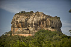 Sigiriya mountain in Sri Lanka Stock Photography