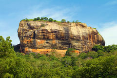 Sigiriya. Mountain on sri lanka Stock Photography