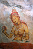 Sigiriya Painting Royalty Free Stock Photography