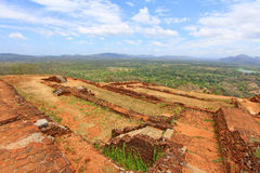 Sigiriya Palace Complex - Sri Lanka UNESCO World Heritage Stock Photo