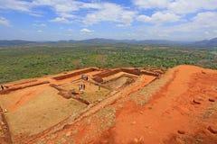 Sigiriya Palace Complex - Sri Lanka UNESCO World Heritage Stock Images