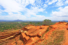Sigiriya Palace Complex - Sri Lanka UNESCO World Heritage royalty free stock photo