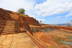 Sigiriya Palace Complex - Sri Lanka UNESCO World Heritage stock photography