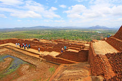 Sigiriya Palace Complex - Sri Lanka UNESCO World Heritage royalty free stock photography