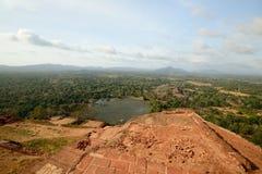 Sigiriya panorama, Sri Lanka Stock Image