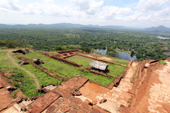 Sigiriya, patrimonio mundial en Sri Lanka Imagenes de archivo