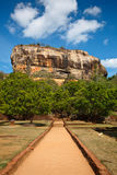 Sigiriya rock Stock Image