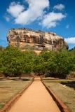 Sigiriya rock. Famous ancient Sigiriya rock. Sri Lanka Stock Image
